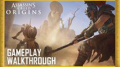 Assassin's Creed Origins: E3 2017 Gameplay Walkthrough Trailer | Ubisoft...