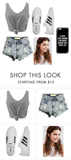 """""""Untitled #31"""" by romi6-1 ❤ liked on Polyvore featuring WithChic, adidas, REGALROSE and Casetify"""