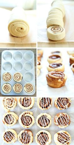 Yeast Free Gluten Free Cinnamon Buns - ready in a flash! This recipe is the quickest, easiest way for you to have all the pleasure of gluten free cinnamon rolls. The house will smell amazing! Gluten Free Sweets, Gluten Free Cookies, Gluten Free Baking, Vegan Gluten Free, Gluten Free Recipes, Dairy Free, Gf Recipes, Gluten Free Deserts, Dinner Recipes