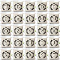 Nordic Angepasst Kissen Abdeckungen Weizen Benutzerdefinierte Kissen Fall 26 Brief Bett Sofa Dekorative Geschenk Almofadas Cojines