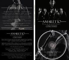Arte del disco  Conectando de la agrupación Amaretto Ensamble Colombia  Diseño y fotografía Alejandro Lopez Fotografía   (David Alejandro López Ospina)