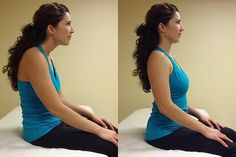 Five Moves to help with Back and Neck Pain. Simple stretches.