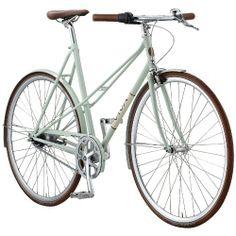 Fahrrad VIva Lady Bellissimo Damen 7G tea milk green (2014) (Rahmengröße: 56 cm)