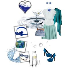 Working With Water, created by mishiemew on Polyvore