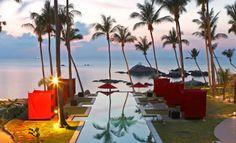 Kupu Kupu Resort 4* on the west coast of Koh Phangan in Thailand