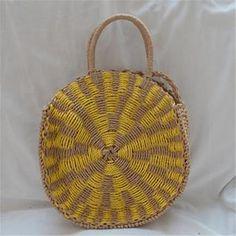 New straw bag hand-woven round handbag women's bag Luggage Sizes, Fabric Textures, Fashion Bags, Straw Bag, Hand Weaving, Shoulder Bag, Colors, Silver, Fashion Handbags