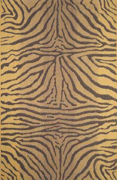 Trans Ocean Terrace Zebra Brown Indoor / Outdoor Rug - - Square Rugs - Area Rugs by Shape - Area Rugs Indoor Outdoor Rugs, Outdoor Area Rugs, Ocean Rug, Aqua Area Rug, Square Rugs, Polypropylene Rugs, Black Rug, Joss And Main, Throw Rugs