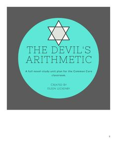 The Devil's Arithmetic by Jane Yolen is an excellent novel to teach in middle school.  This book engages students in the story of a girl who travels back in time to the Holocaust.  Through her experiences, she earns a new appreciation for her people's history. $5 on TPT!