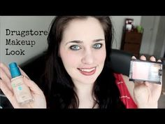 Learn how to get my easy makeup look - with all drugstore products --- done in about 10 minutes