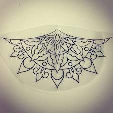 Image result for simple half mandala design