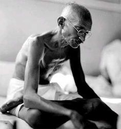 Always aim at complete harmony of thought and word and deed. Always aim at purifying your thoughts and everything will be well.  Mahatma Gandhi  Born2 October 1869  Porbandar, Kathiawar Agency, Bombay Presidency, British India[1]  (now in Gujarat, India)  Died30 January 1948 (aged 78)  New Delhi, Dominion of India  Cause of deathAssassination by shooting