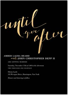 6 Chic Wedding Invitations That Are Perfect for All the Upcoming Celebrity Weddings