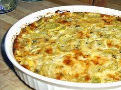 ITALIAN SQUASH PIE - Linda's Low Carb Menus & Recipes