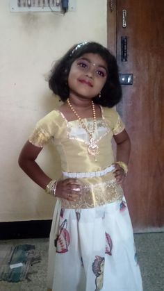 Kids kerala dress