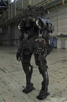 The future in military technology is among us. | Repinned by @emilyslutsky