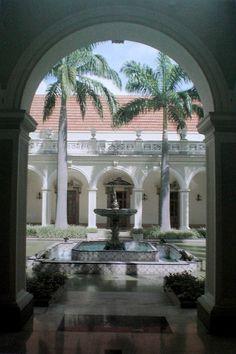 Patio Central de El Palacio de  Miraflores Caracas _ Venezuela