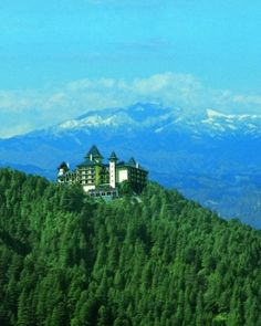 Wildflower Hall, in the Himalayas, was ranked the sixth best-rated luxury hotel in the world