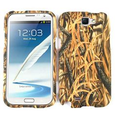 Unlimited Cellular Snap-On Case for Samsung Galaxy Note 2 (Hunter Series, w/New Shedder Grass)