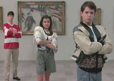 """Ferris Bueller's Day Off"" / ""Ferris macht blau"""" - - 80s Movies, Iconic Movies, Movies To Watch, Good Movies, 1980s Films, Greatest Movies, Comedy Movies, Charlie Sheen, Billy Idol"