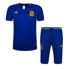 2016 Spain Soccer Team Blue Soccer Replica Training Suit,all football shirts are AAA+ quality and fast shipping,all the soccer uniforms will be shipped as soon as possible,guaranteed original best quality China soccer shirts Soccer Uniforms, Football Shirts, Soccer Jerseys, Mon Cheri, Suit Shirts, Cool T Shirts, Football Tracksuits, Spain Soccer, Spain Football