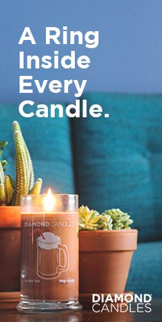 A gorgeous great smelling candle plus a chance to win a ring worth up to $5,000? Yes please! You have got to check this out!
