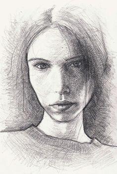 portrait #1 on Behance