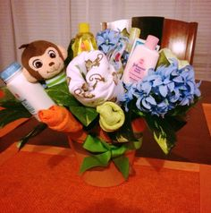 Successful baby shower bouquet!!