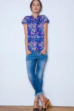 Cooper and Della blouse. Perfect.