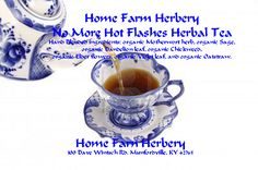 No More Hot Flashes Herbal Tea, Order..., Food items in Hart County