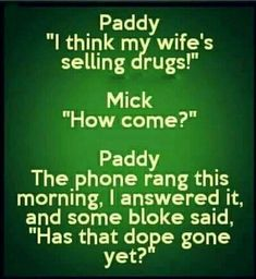 (no title) What is April how come it a laugh, just Funny Irish Jokes, Short Jokes Funny, English Jokes, Funny Texts, Adult Dirty Jokes, Funny Jokes For Adults, Adult Humor, Paddy Jokes, Sarcastic Quotes