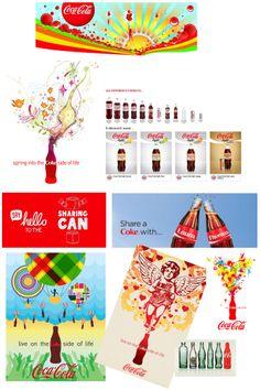 Le site est très coloré et attise la curiosité. Il met en avant de nombreuses vidéos qui illustrent la marque. Cliquer sur une illustration nous redirige automatiquement vers le site sur lequel a été publié l'article mentionnant Coca Cola. C'est un site très interactif, qui donne envie de cliquer sur toutes les vidéos et images pour plus en découvrir. La gamme de produits est également bien détaillée avec la possibilité de télécharger la fiche descriptive du produit.