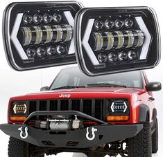 "1pcs 85W 7x6/'/' 5X7/"" 4800lm 6000K LED Hi-Lo Beam Car SUV Truck DRL Headlight Lamp"
