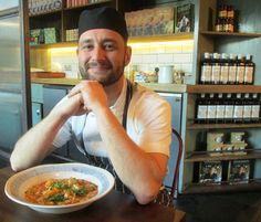 A proud chef at Jamie's Italian, Milsom Place.