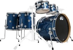 DW Finish Ply Blue Glass Fusion