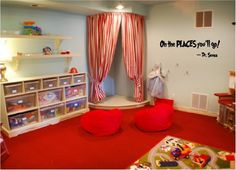 Excellent Dr Seuss Style Kid S Bedroom I Just Love This Is A Playroom