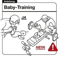 Bedienungsanleitung fürs Baby ;)
