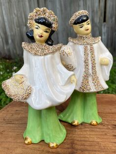 Chinese Figurines, Vintage Ceramic, Kitsch, Mid Century, Asian, Ceramics, Trending Outfits, Handmade Gifts, Unique