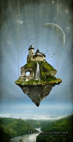40 Mind Blowing Surreal Photo Manipulations Mind Blowing Manips gathered from DA. Fantasy Places, Fantasy World, Fantasy Art, Surreal Photos, Surreal Art, Fantasy Landscape, Landscape Art, Artistic Visions, Pretty Drawings