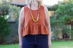 Peplum Top | In The Folds and Peppermint Magazine
