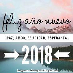 Feliz Año 2018 para todos! Que este nuevo año sea increiblemente bello y venga lleno de hermosos momentos #FelizAñoNuevo