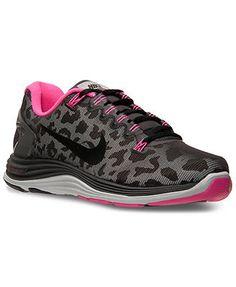 224548605bd2 Nike Women s Lunarglide+ 5 Shield Running Shoes from Finish Line...CUTE Nike  Shoes