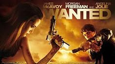Wanted movie poster Angelina Jolie and James McAvoy Sci Fi Movies, Movies To Watch, It Movie Cast, Movie Tv, Angelina Jolie Movies, Hollywood Action Movies, Wanted Movie, Movie Subtitles