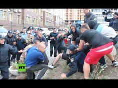 Odessa: Rechter Sektor liefert sich Schlägerei mit Polizei beim Versuch Russen…