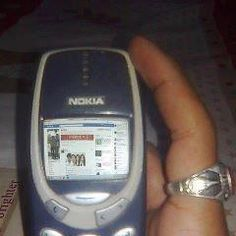 Facebook is now compatible with Nokia 3310 :) :-p