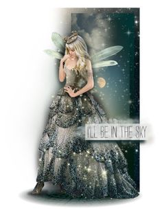 """I'll be in the sky"" by kearalachelle ❤ liked on Polyvore featuring art"