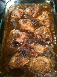 Jerk Chicken with Gravy!! I had it in Jamaica, and that was all i wanted for all my meals.
