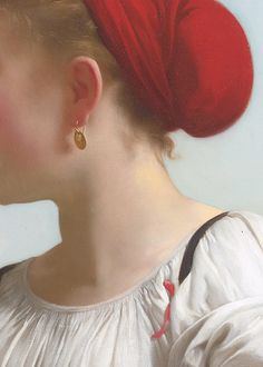 The Harvester by William-Adolphe Bouguereau, 1868 (detail)