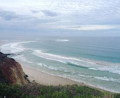 The Great Ocean Road. It was a bit cloudy but still stunning! #greatoceanroad #australia #nature #beautiful #anglesea #seaside by ellepiette http://ift.tt/1KosRIg