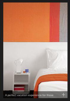 pintura parede colorida