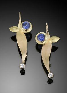 Custom Sapphire Earrings